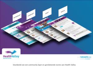Netwerkapp - Health Valley Community
