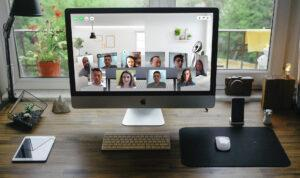Virtual meeting lounge