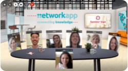 Networkapp Virtuele Huiskamer - beursstand