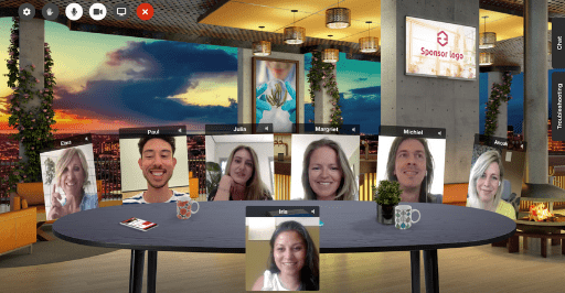 Networkapp Virtuele Huiskamer