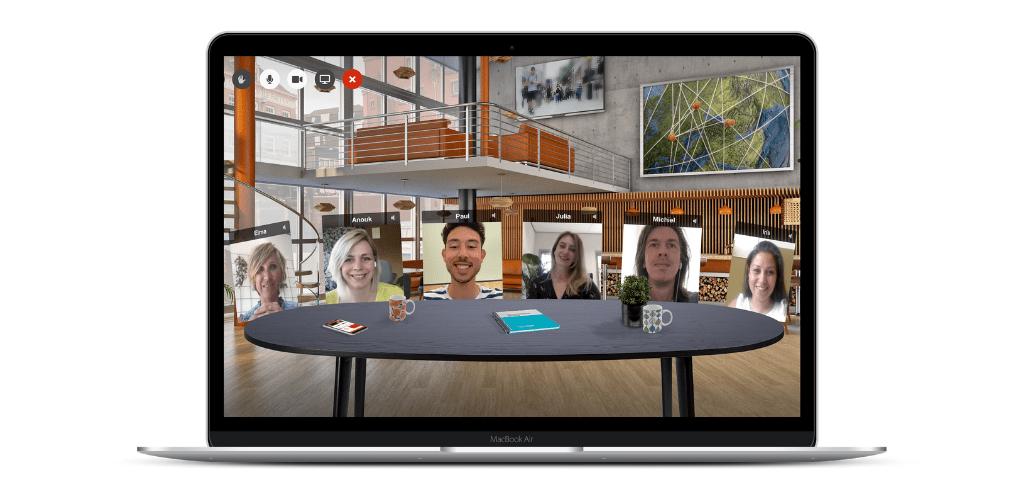Networkapp Virtuele Huiskamer - grand cafe